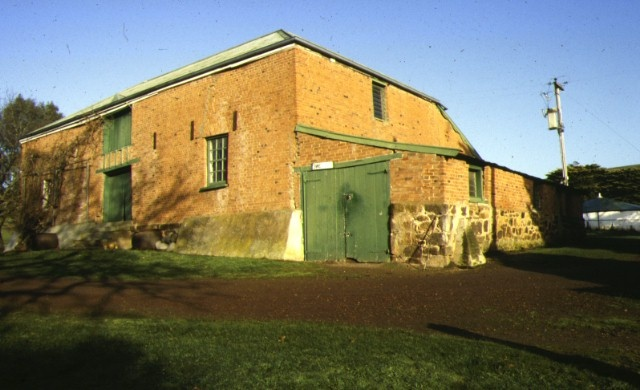 1 red brick barn late 1840s muntham casterton side view