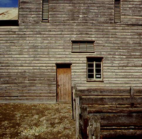 warrock warrock road casterton exterior detail of wool shed publication
