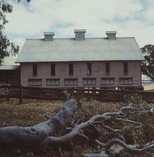 warrock warrock road casterton wool shed side view publication