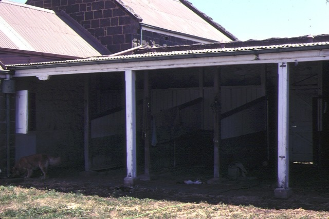stables 1875 lara homestead derrinallum verandah