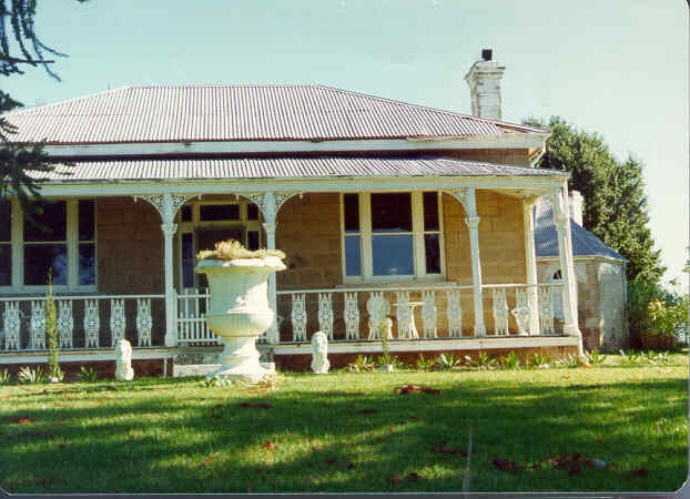 1 adelaide vale homestead and outbuildings goornong front view