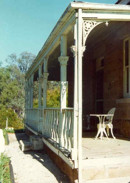 adelaide vale homestead and outbuildings goornong verandah