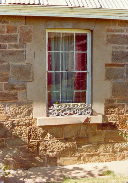 adelaide vale homestead and outbuildings goornong window detail