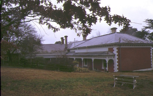 st agnes homestead calder hwy kyneton rear view jul1999