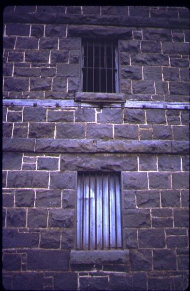 1 old mill carlsruhe bluestone wall may84