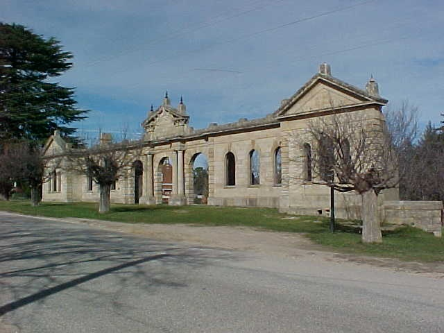 1 old hospital ruins church street beechworth