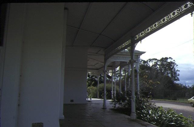 kongbool coleraine rd balmoral verandah lacework sep1978