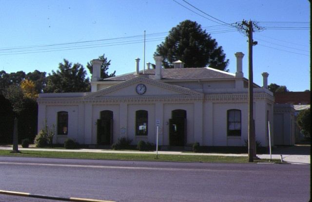 1 former echuca town hall front view may1979