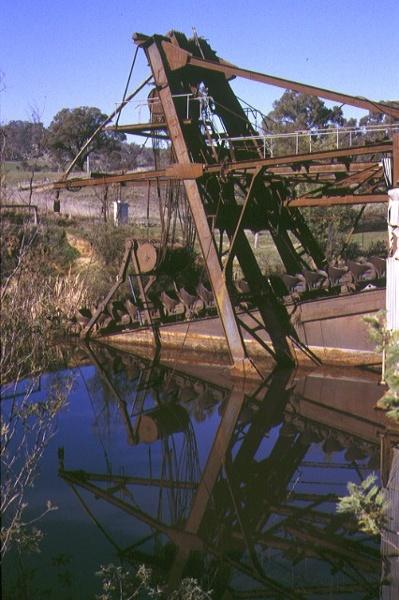 eldorado bucket dredge byawatha road eldorado side view
