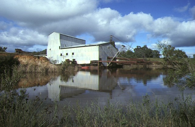eldorado bucket dredge byawatha road eldorado site view