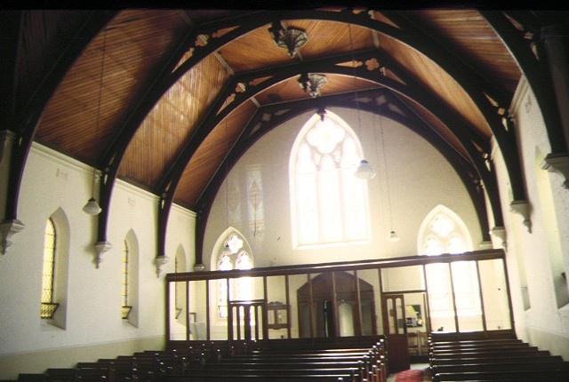 presbyterian college church royal prd parkville interior back jan1997