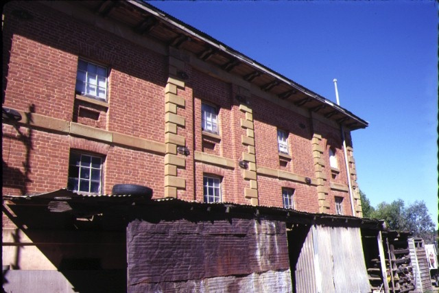 flour mill barker street castlemaine rear view