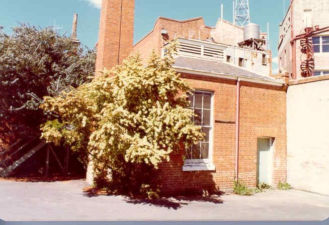 former bank of nsw view street bendigo rear view