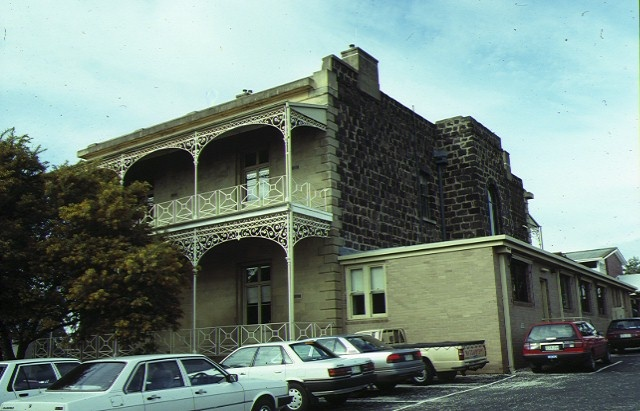 armytage house pakington street newtown rear view
