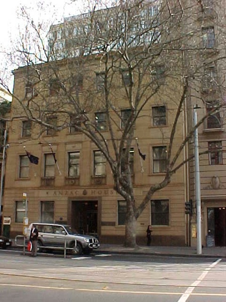 anzac house collins street melbourne front view jul1999