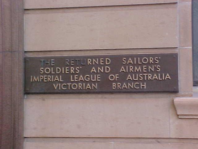 anzac house collins street melbourne plaque jul1999