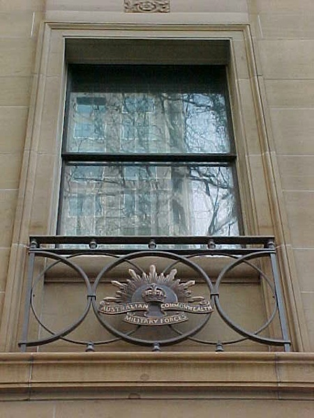 anzac house collins street melbourne window detail jul1999
