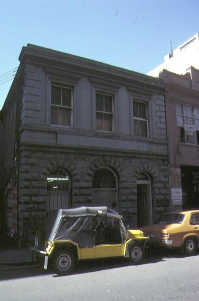 warehouse flinders lane melbourne front view jan1979