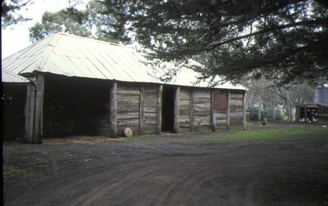 glenisla homestead glenisla via cavendish outbuilding jul1978