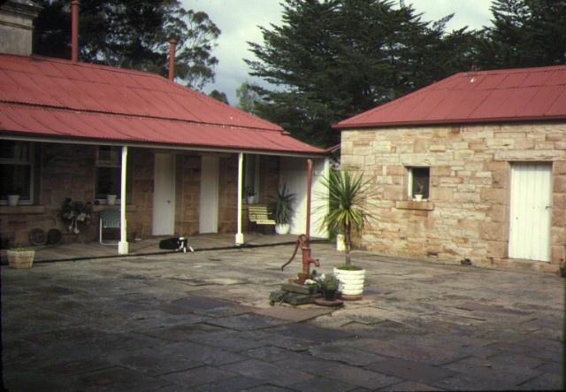 glenisla homestead glenisla via cavendish rear entrance jul1978