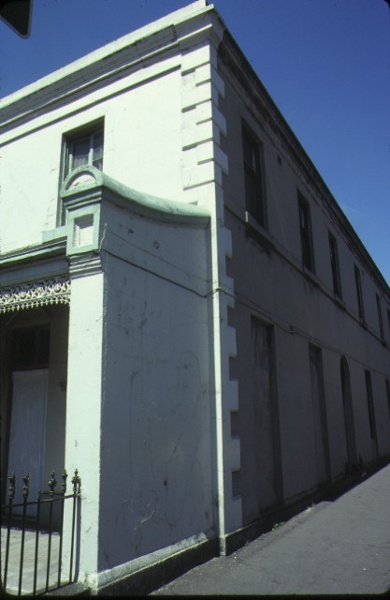 glass terrace gertrude street fitzroy detail side & front oct1978