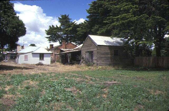 former blacksmiths cottage & shop main street bacchus marsh view of property dec1978