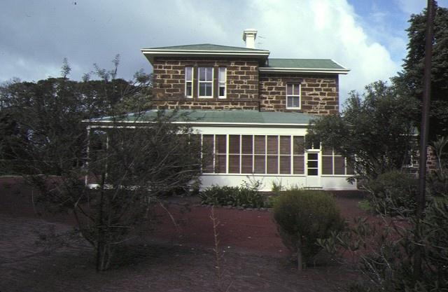 mt talbot homestead mt talbot horsham homestead side elevation sep1979