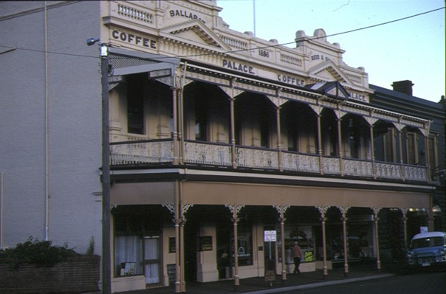 1 reids coffee palace ballarat front view yellow facade