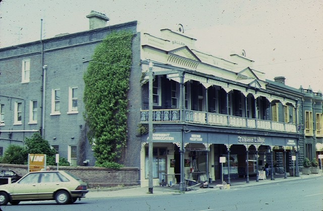 reids coffee palace ballarat side view feb1985