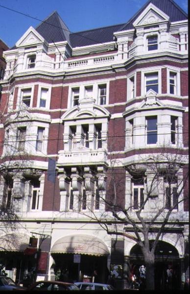 1 austral building collins street melbourne front view