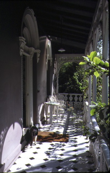 zetland yarra street hawthorn front verandah mar1987