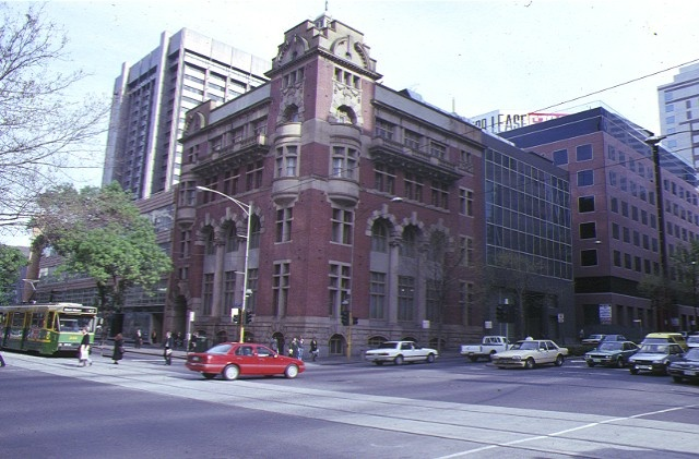 former new zealand loan & mercantile company ltd building collins street melb streetscape
