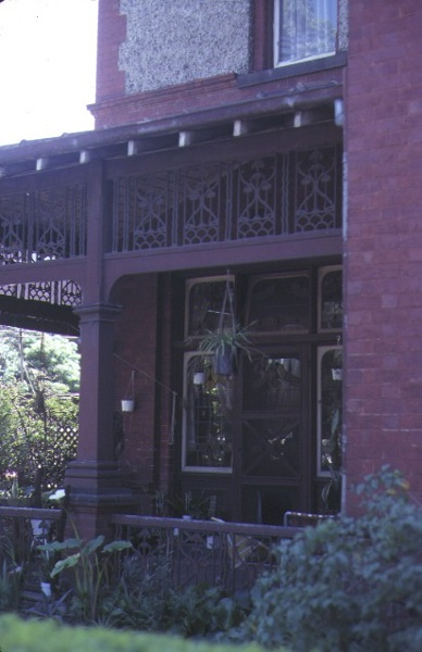 st hildas house clarendon street east melbourne verandah detail sep1981