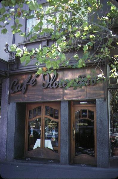 1 cafe florentino bourke street melbourne shop front
