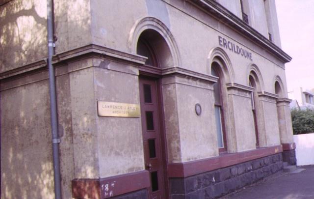 ercildoune napier street footscray front entrance