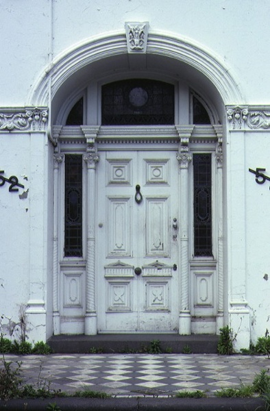 foynes powlett street east melbourne front entrance oct1980