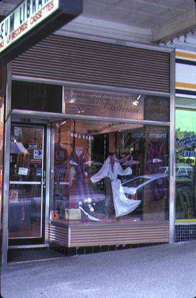 the athenaeum building collins street melbourne shop front oct1982