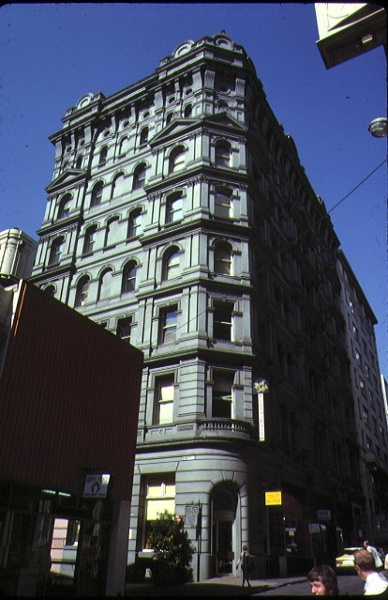 1 stalbridge chambers little collins street melbourne front view jan1979