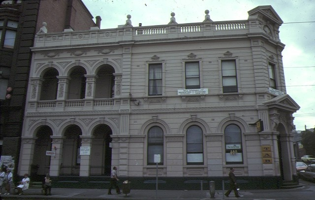 former union bank of australia smith street fitzroy front elevation mar1980