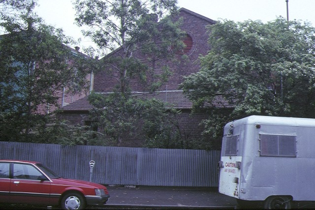 horticultural hall victoria street melbourne rear view 1991