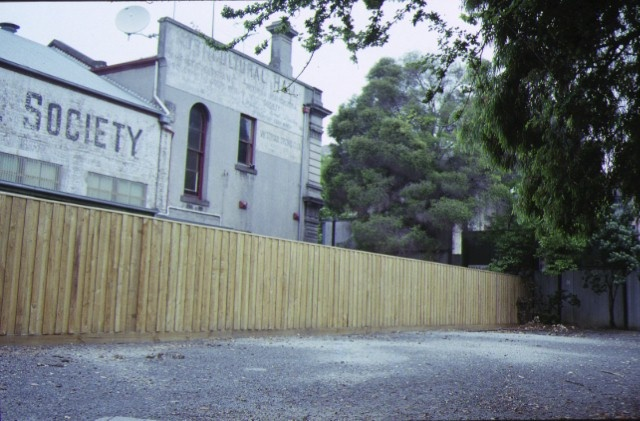 horticultural hall victoria street melbourne side view 1991