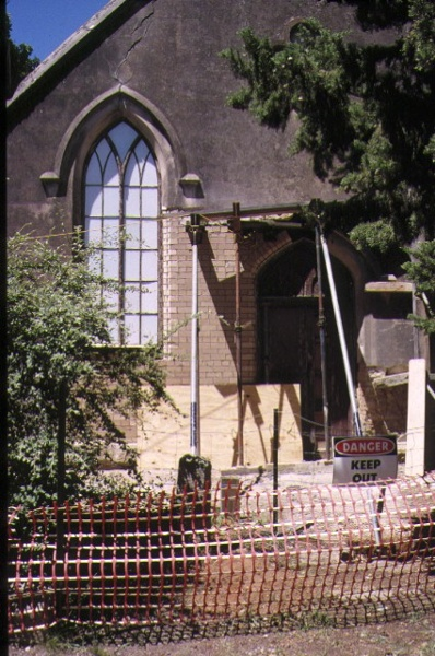 former methodist church ford street beechworth detail front