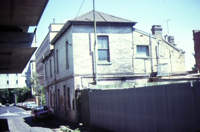 former devonshire arms hotel fitzroy street fitzroy rear view feb1982