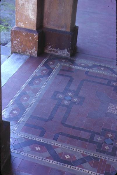 chandos 44 hotham street east melbourne tiled floor