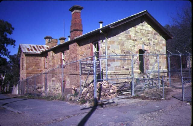 1 old police barracks bendigo side view aug1982