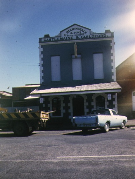 1 former shop & residence templeton street castlemaine front view