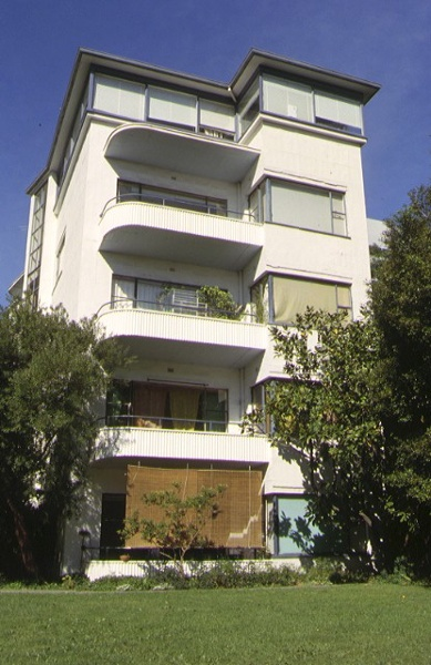 1 newburn flats queens street south melbourne front elevation oct1999