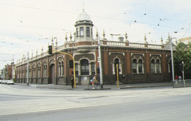 cable tram engine house gertrude street fitzroy street view