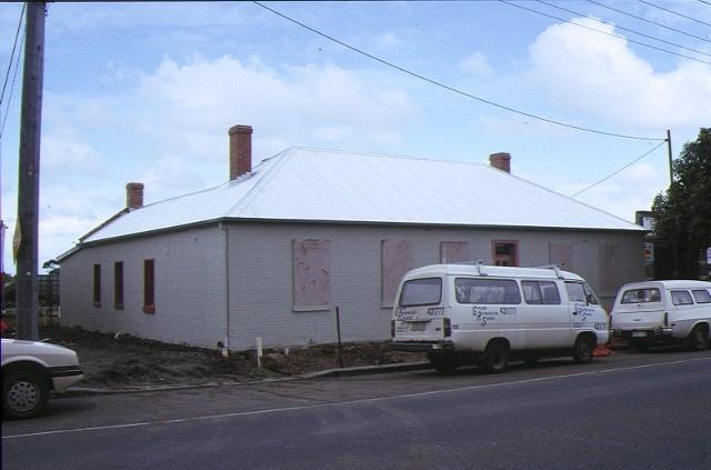 former harp inn packington street geelong west rear view