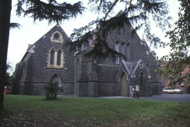 1 st stephens anglican church church street richmond front view jun1983